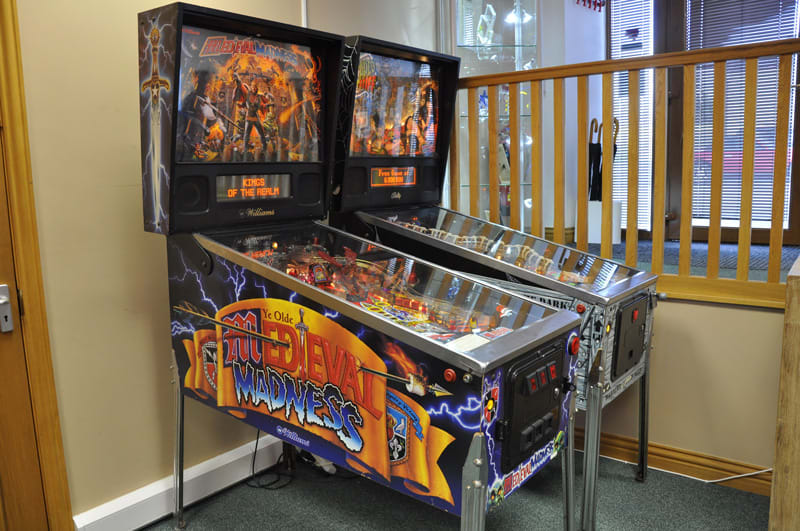 Medieval Madness Pinball Machine - Full View