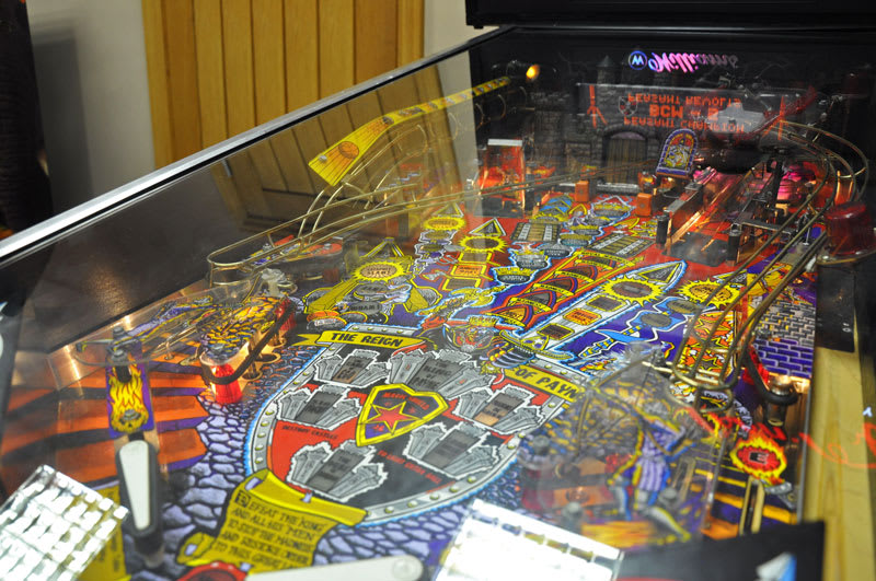 Medieval Madness Pinball Machine - Playfield