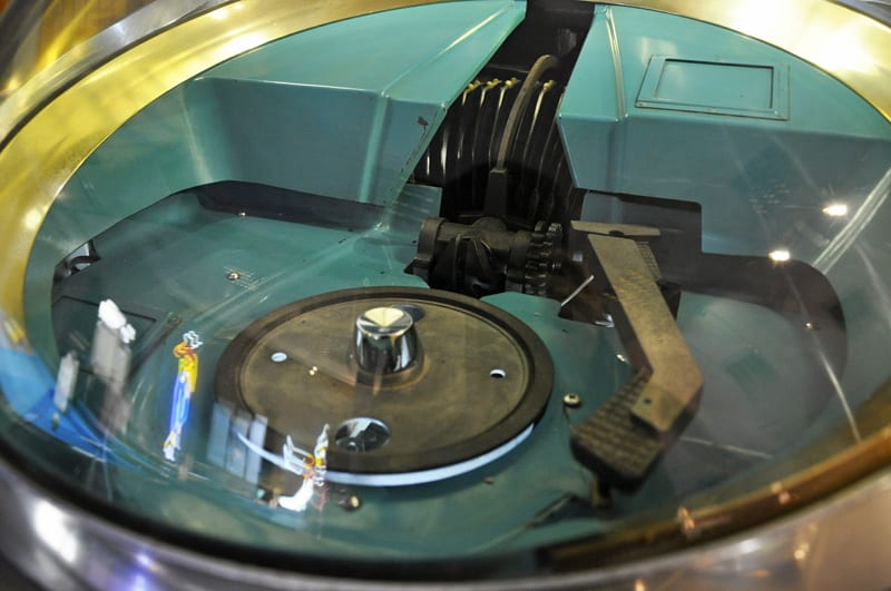 AMI Continental Jukebox - Turntable