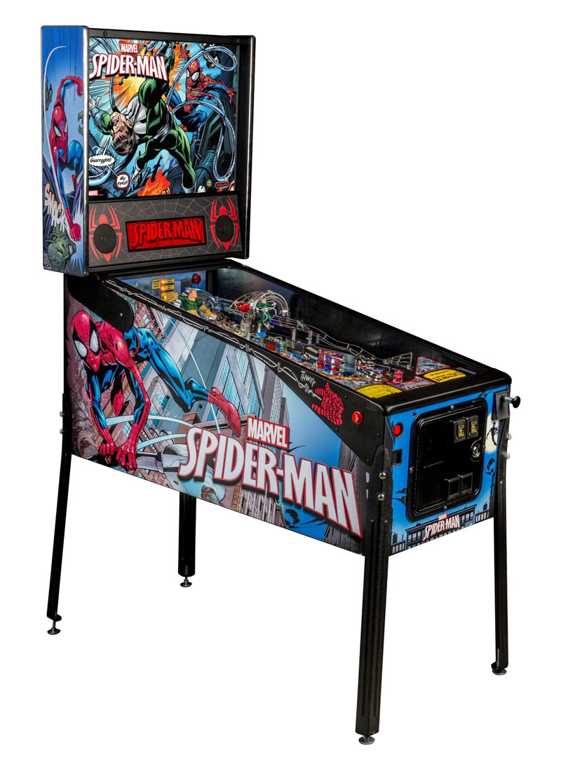 An image of Spider-Man Vault Edition Pinball Machine