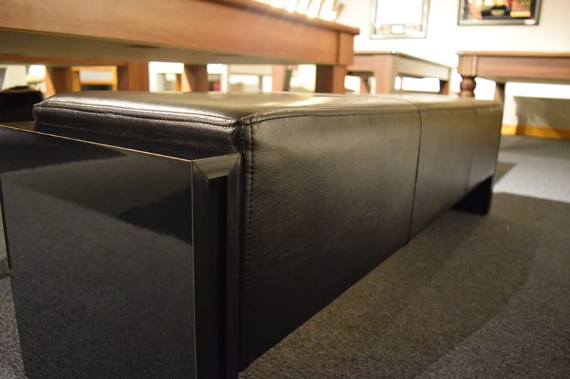 An image of 6ft Pool Table Bench - Black