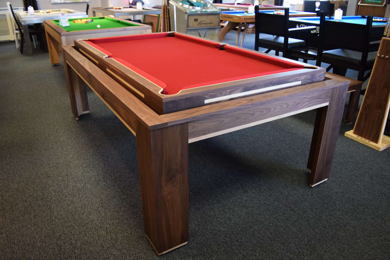 An image of Designer Billiards Spartan Rollover Luxury Pool Table
