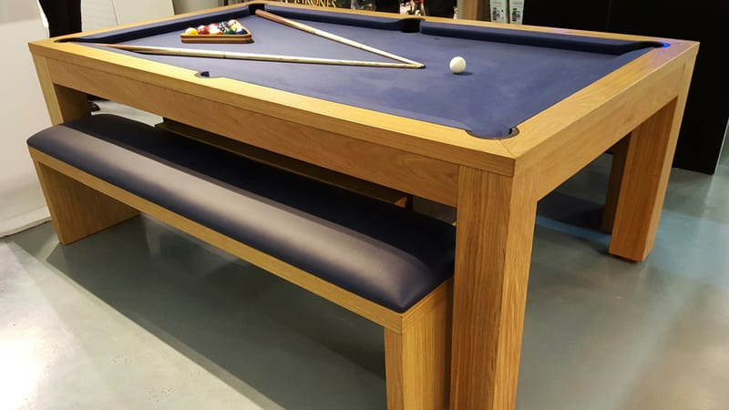 Ex Demo Billards Montfort Lewis Pool Dining Table in Oak