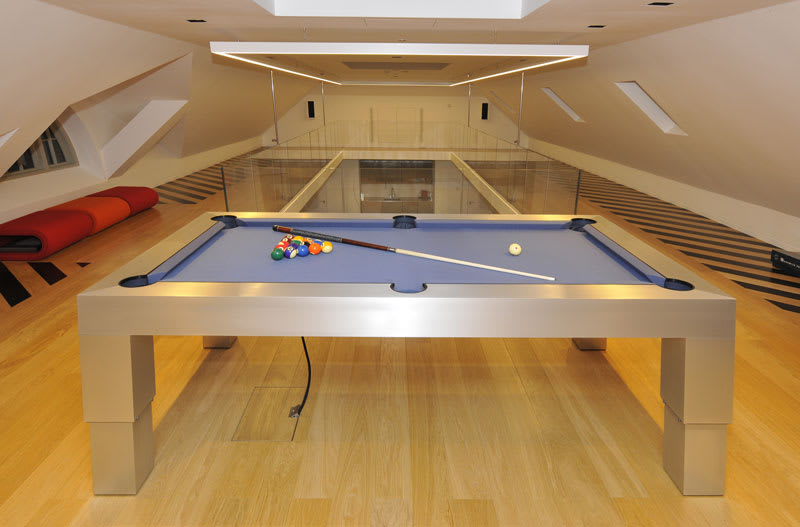 An image of Designer Billiards Apex Solid Aluminium Pool Table - 7ft, 8ft, 9ft |