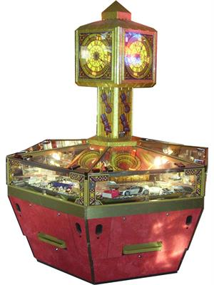 Big Ben 6 Player Coin Pusher Machine