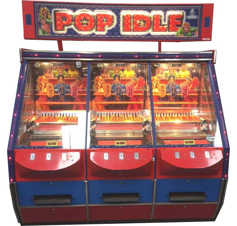 An image of Pop Idle 3 Player Coin Pusher Machine
