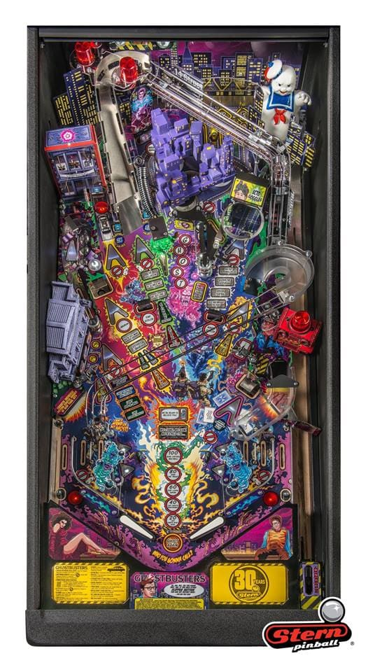 Stern Ghostbusters Premium Pinball Machine - Playfield