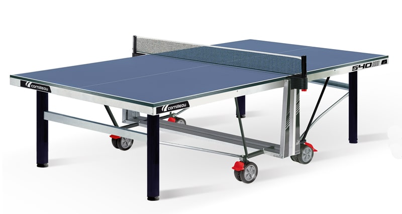 An image of Cornilleau Competition 540 Indoor Table Tennis Table: Blue