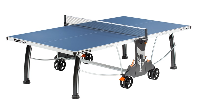 An image of Cornilleau Performance 400M Outdoor Table Tennis Table: Blue
