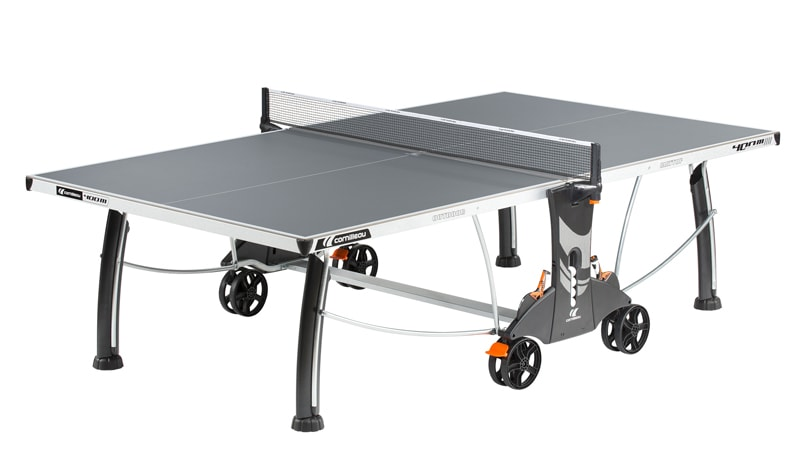 An image of Cornilleau Performance 400M Outdoor Table Tennis Table: Grey