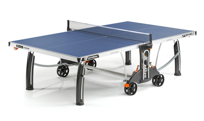 An image of Cornilleau Performance 500M Outdoor Table Tennis Table: Blue