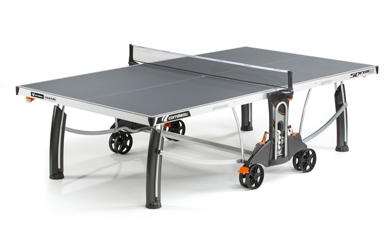An image of Cornilleau Performance 500M Outdoor Table Tennis Table: Grey