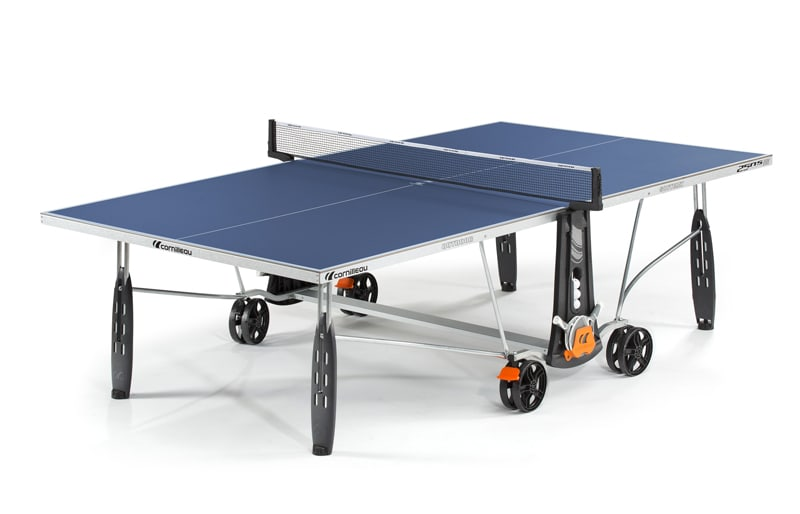 An image of Cornilleau Sport 250S Outdoor Blue Table Tennis Table
