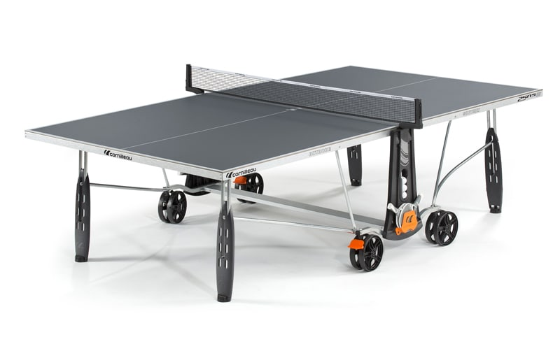 An image of Cornilleau Sport 250S Outdoor Slate Grey Table Tennis Table