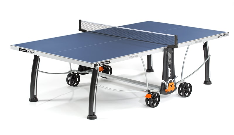 An image of Cornilleau Sport 300S Outdoor Table Tennis Table: Blue