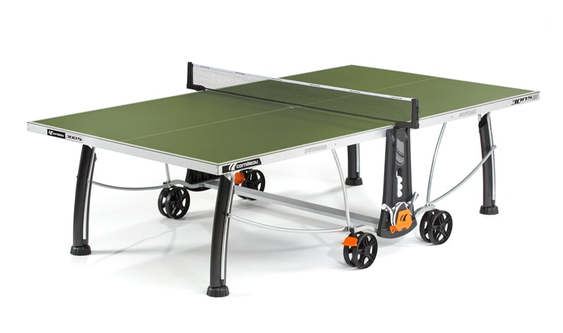 An image of Cornilleau Sport 300S Outdoor Table Tennis Table: Green