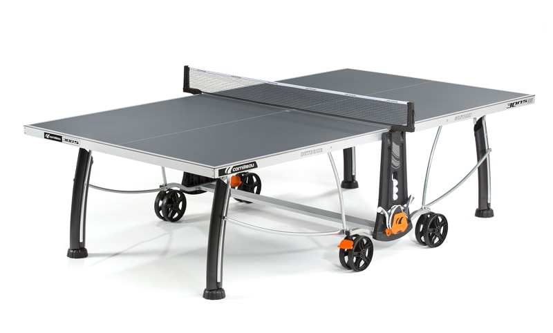 An image of Cornilleau Sport 300S Outdoor Table Tennis Table: Grey