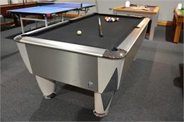 Sam Atlantic Champion BAPTO (Silver Titanium) Pool Table - 7ft