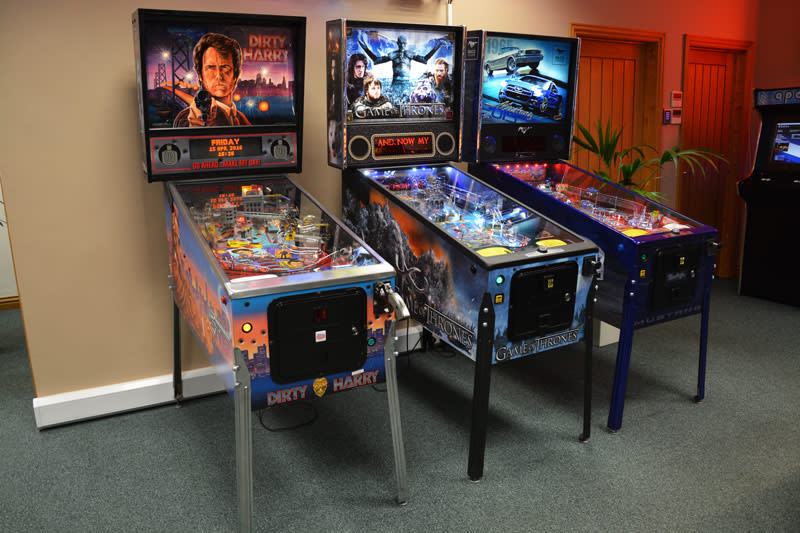 An image of Dirty Harry Pinball Machine