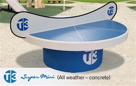 T3 SuperMini Outdoor Table Tennis Table