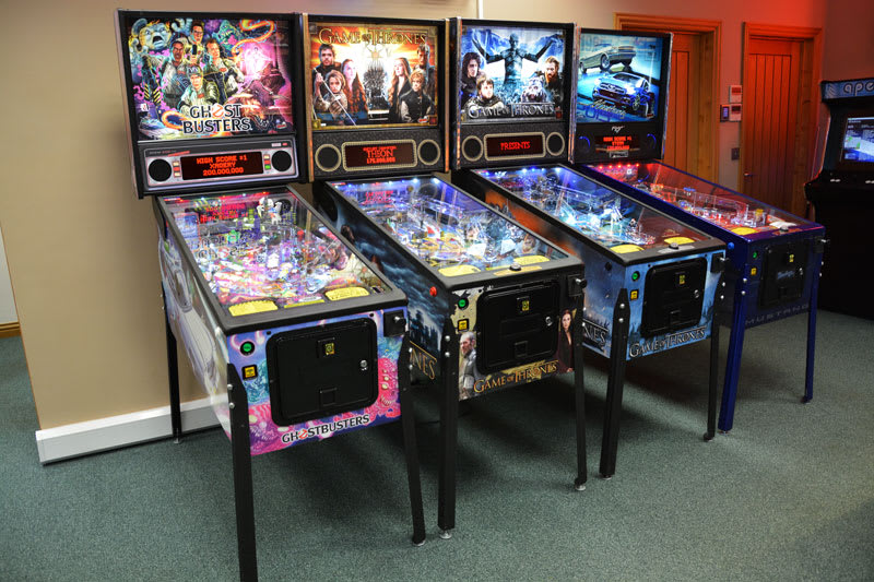 Ghostbusters Pro Pinball Machine - in Showroom