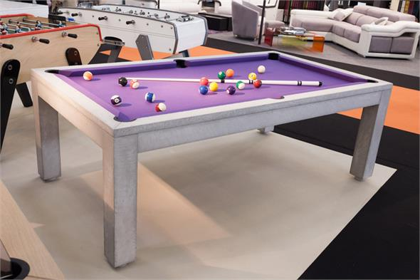 Billiards Montfort Lewis Concrete Luxury Pool Table - Luxury billiards table