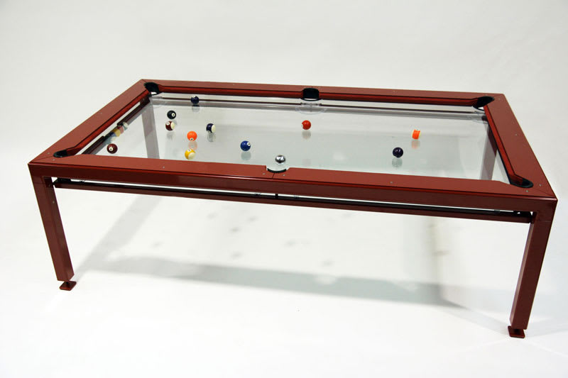 Elite Innovations G4 Phoenix Pool Table - Wood Finish