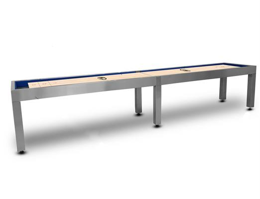 Hudson Brushed Stainless Steel Shuffleboard