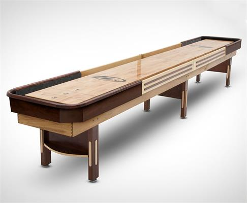 Hudson Deluxe Hybrid Shuffleboard - 20ft - Warehouse Clearance