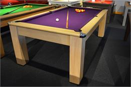 Exeter Pool Dining Table: All Finishes - 6ft, 7ft