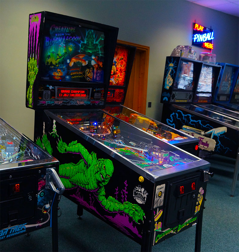 creature from the black lagoon pinball machine for sale. Black Bedroom Furniture Sets. Home Design Ideas