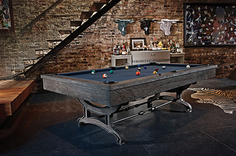 Brunswick Birmingham Pool Table - Room Shot