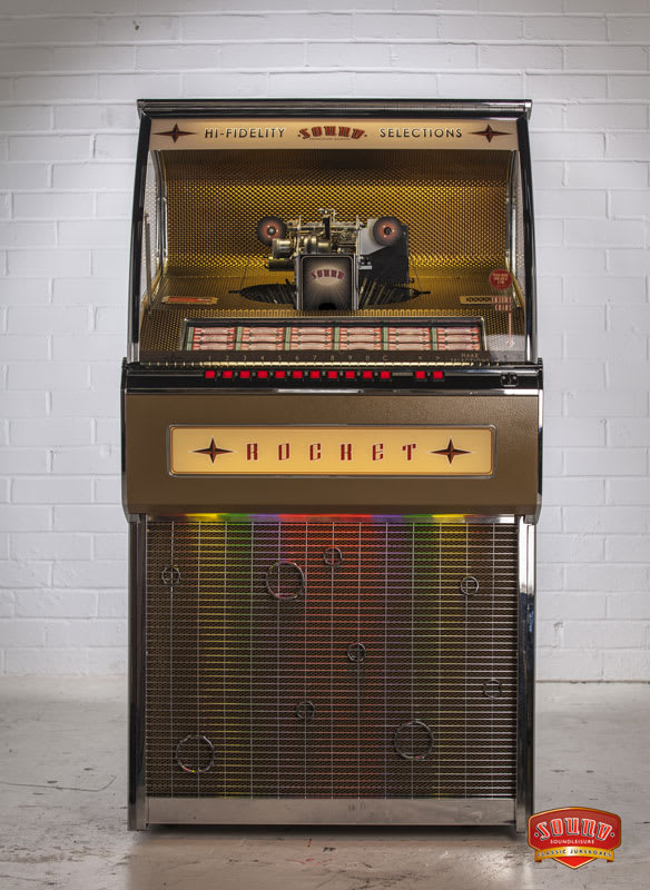 Vinyl Rocket Jukebox Sound Leisure Home Leisure Direct