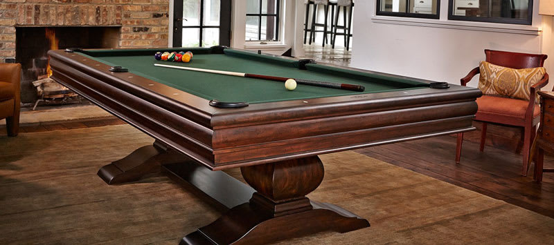 Brunswick Mackenzie Pool Table - Room Shot