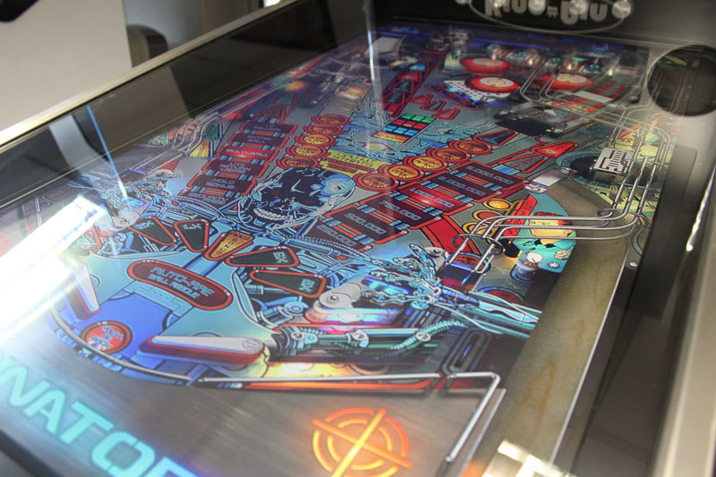 King-Pin Virtual Pinball Machine - Playfield Close-Up 4