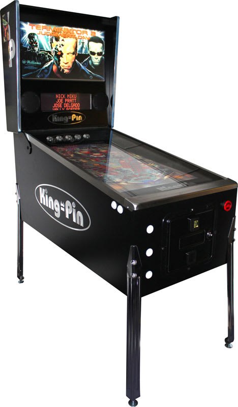 King-Pin Virtual Pinball Machine | Home Leisure Direct