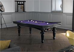 Billards Montfort Ile de France Pool Table - Black