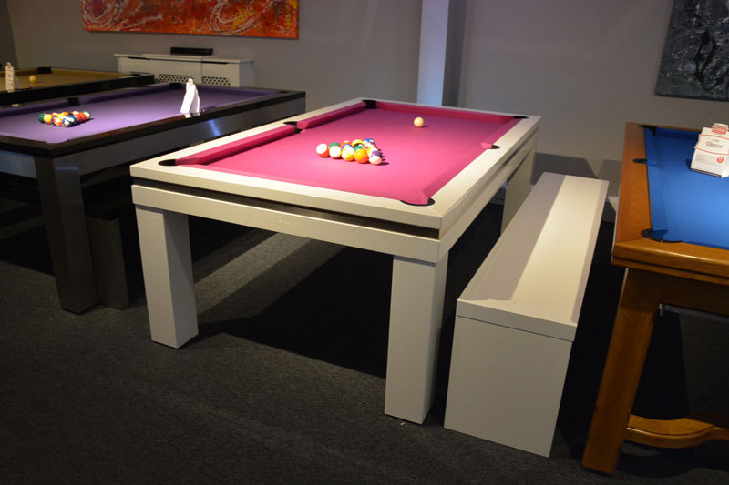 Billards Montfort Pool Table Storage Bench
