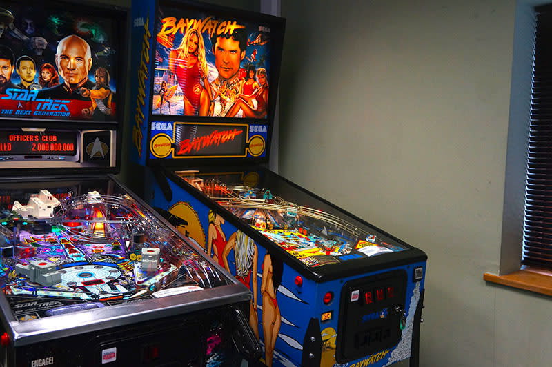 Baywatch Pinball Machine - In Showroom