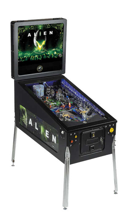 Alien Pinball Machine - Overall