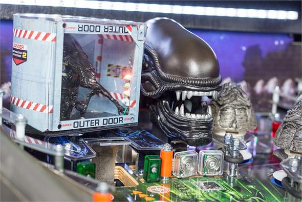 Alien Pinball Game-Swop Kit