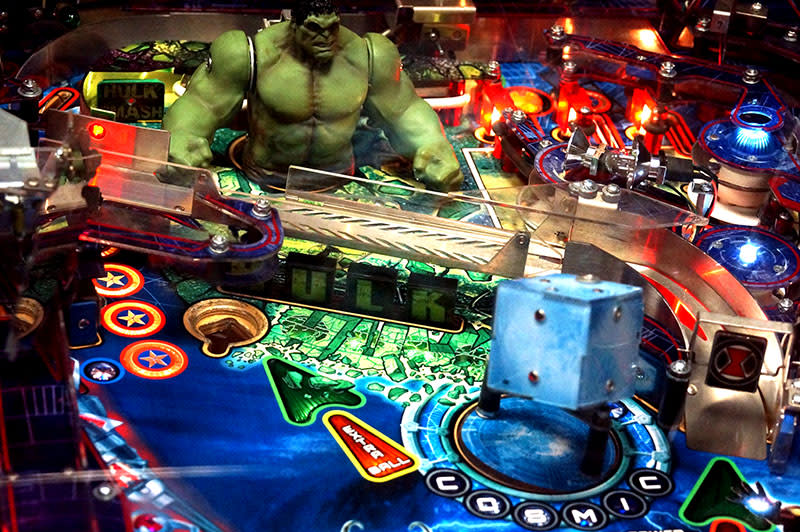 The Avengers Pinball Machine - Black Widow Ramp