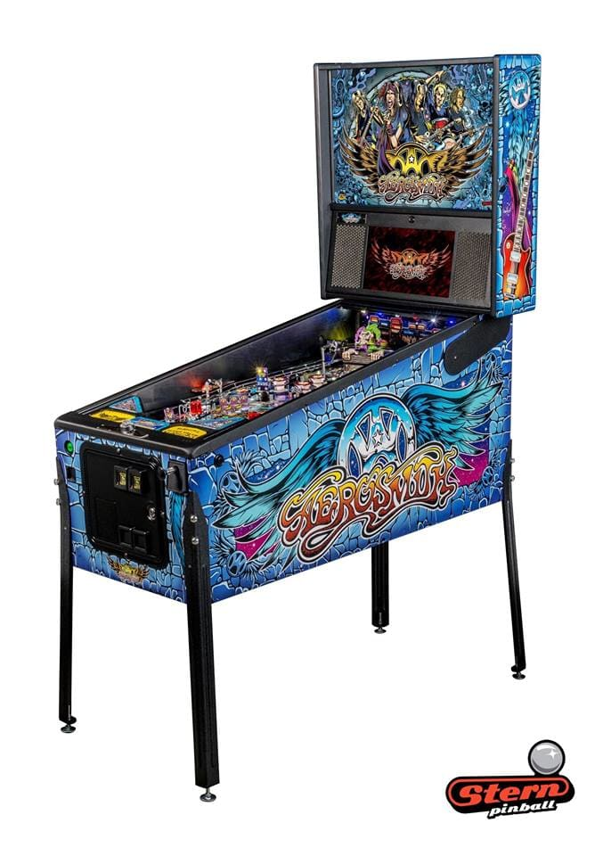 An image of Aerosmith Pro Pinball Machine