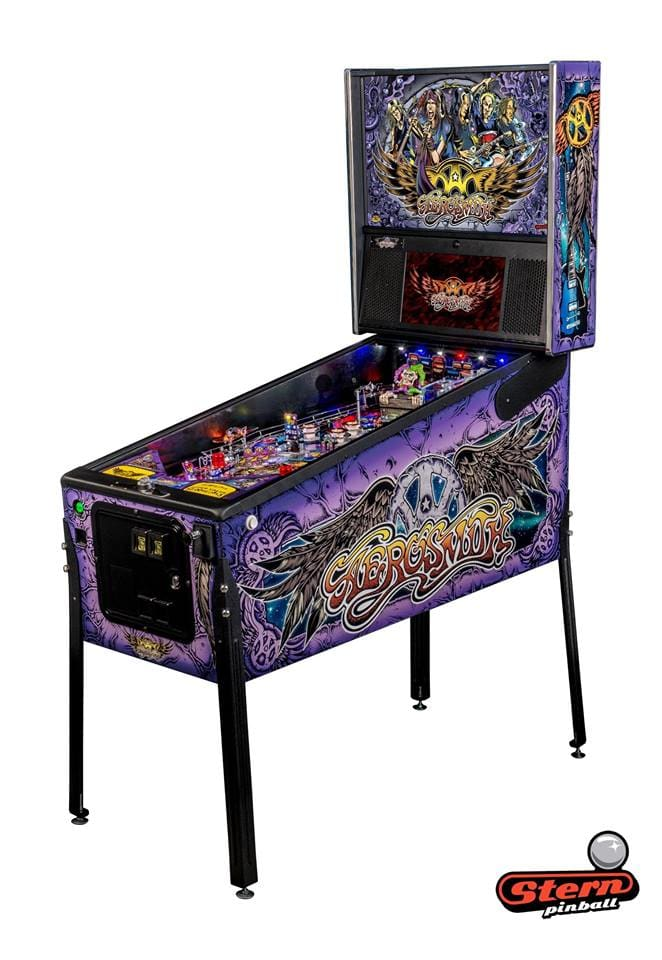 Aerosmith Premium Pinball Machine -Machine Overview