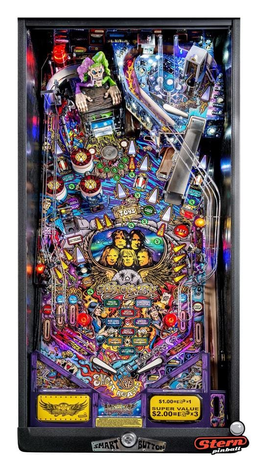 Aerosmith Premium Pinball Machine -Playfield Plan