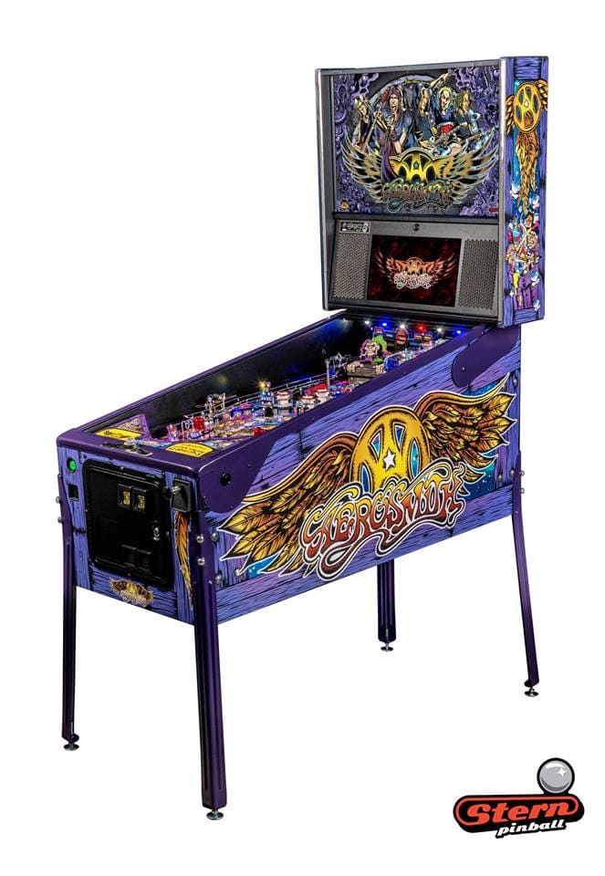 Aerosmith LE Pinball Machine - Machine Overview