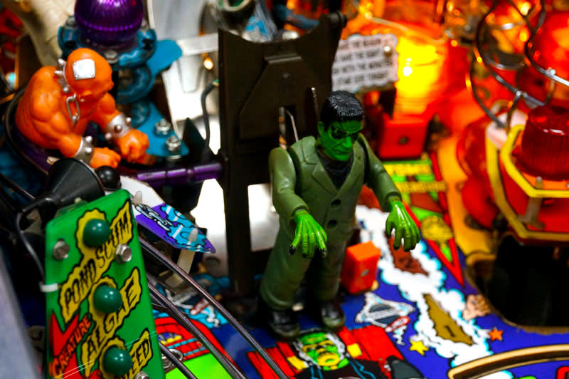 Monster Bash Pinball Machine - Standing Frankenstein