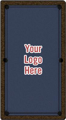 Custom Logo Pool Table Cloth