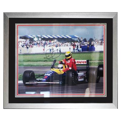 Signed Nigel Mansell Picture