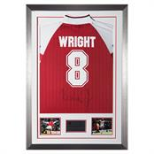Signed Ian Wright Shirt